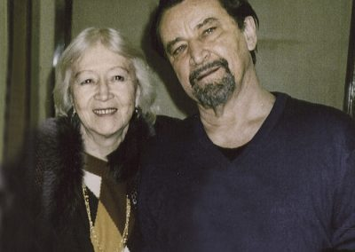 Galina Ulanova and Maurice Bejar