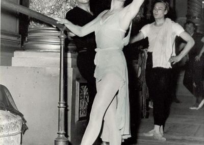 Г. Уланова, Ю. Жданов, Б. Хохлов. Гранд-опера, Париж, 1958
