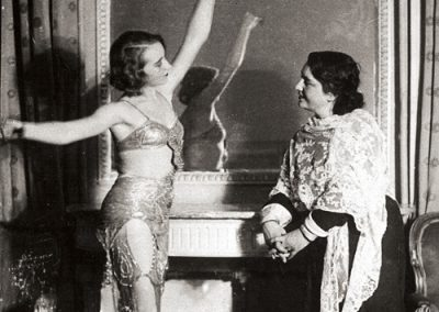 Galina Ulanova and Elizaveta Ivanovna Time