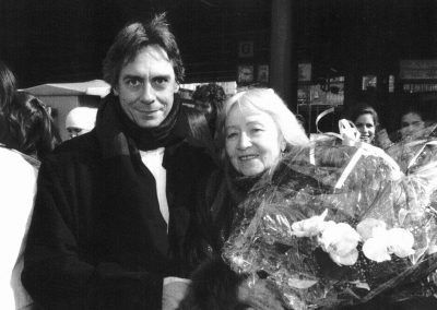 John Neumeier and Galina Ulanova, 1991