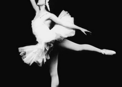Swan Lake. Galina Ulanova as Odette