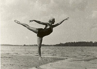 On Holiday at Barvikha Sanatorium and at lake Seliger. 1930-s