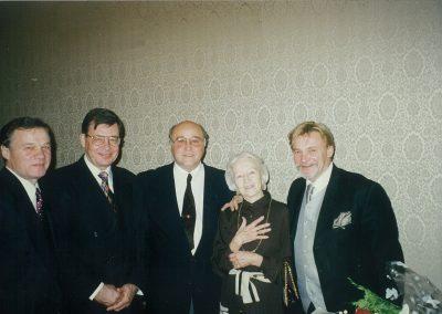 Поздравления Г.С.Улановой в кабинете директора Большого театра