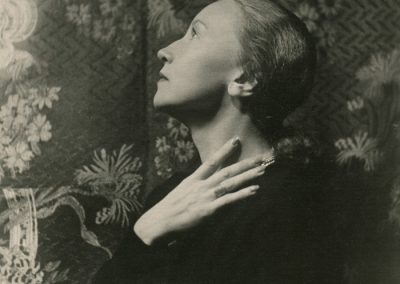The portrait of Galina Ulanova. Photo credit Cecil Beaton