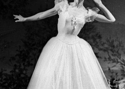 Chopiniana. Galina Ulanova as Sylphide