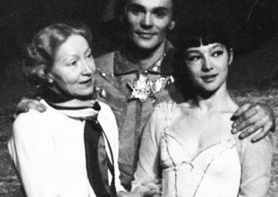 With Vladimir Vasiliev and Ekaterina Maksimova