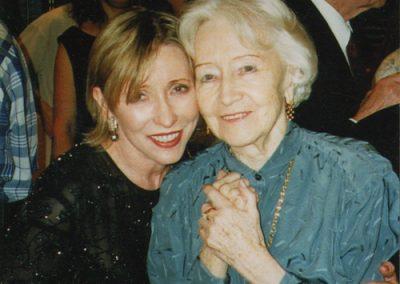 With Natalia Makarova